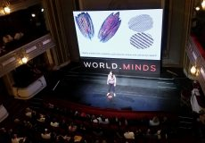 WORLD MINDS: Marija Mitrović Dankulov at a prestigious conference